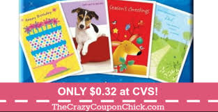 hallmark or american greeting cards only 0 32 at cvs the
