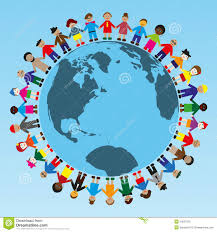 around the world stock vector image of diverse 24527810