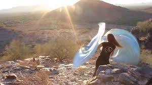 Spiritual Warfare Flags Living Waters Aqua Blue Worship Flags In The Desert Music By