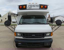 2006 ford e450 super duty girardin shuttle bus item db4514
