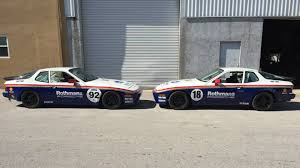 old racing porsche start your own vintage racing team with this pair of rothmans