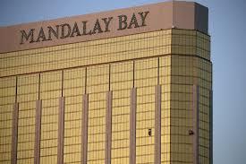 photos smashed mandalay bay windows where gunman opened fire mandalay bay window las vegas shooting