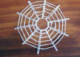spider web ornament craftpenguin