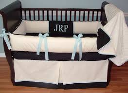 Baby Mickey Crib Bedding by Interior Blue Mickey Mouse Crib Bedding On Black Wooden Crib