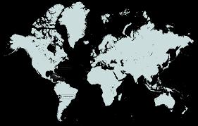 World Wide Map Worldwide Hatsu