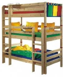 three bunk beds triple bunk beds for kids foter