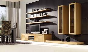 trend decoration design shelves in hall for masculine and glass