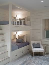 Built In Bunk Bed Bunk Beds With Built In Steps Transitional Boy S Room