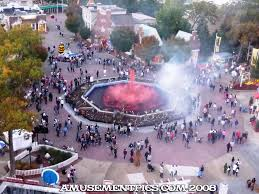 Fright Fest Six Flags Nj Amusementpics Com Fright Fest Opening Weekend The Park Today
