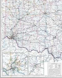 Map Of Ohio by 1918 Railroad Map Of Ohio