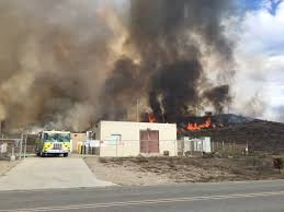 Wildfire Lompoc Ca by Vandenberg Launch Facilities Spared After Successful Containment