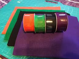 halloween grosgrain ribbon the liebers diy trick or treat bags for halloween