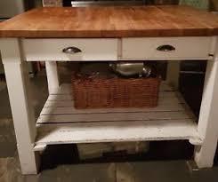 oak kitchen island ebay