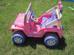 barbie jeep 2000 power wheels barbie cruisin jeep