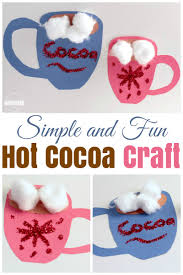simple cocoa craft for kids