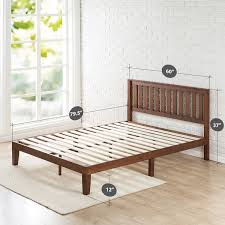 hand made reclaimed wood platform bed to order from trends also