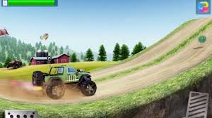 3d monster truck stunt racing monster truck racing live events gameplay android ios hill