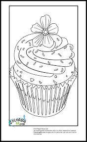 cupcake coloring pages minister coloring
