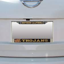 usc alumni license plate usc car decals usc trojans license plates frames stickers