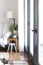 French Doors Wood - black french doors the wood grain cottage