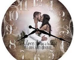 Personalized Wedding Clocks Personalized Clocks Etsy