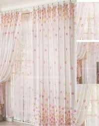 eco friendly floral printing style country curtains sale