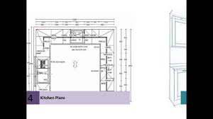 Kitchen Floor Plan Designs Kitchen Floor Plans For Beautiful Home Youtube