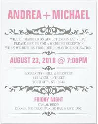 wedding invitation wording casual wordings casual wedding dinner invitation wording in conjunction