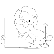 abc coloring pages for toddlers coloring pages animal alphabet letter l coloring child coloring