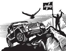 logo jeep wrangler garth glazier