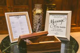 message in a bottle wedding 10 ideas for a guest book which don t weddingplanner co uk