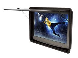 waterproof and vandal resistant outdoor tv enclosure tv shield