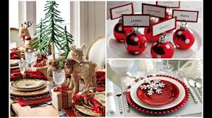christmas decorations for the dinner table 2016 christmas holiday dinner table setting ideas youtube