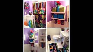 cute girls bathroom decorating ideas youtube