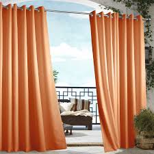 Outdoor Curtains With Grommets Outdoor Decor Gazebo Grommet Outdoor Curtain Panel Hayneedle
