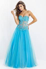 black friday prom dresses shop new arrival tulle dress princess floor length sweetheart blue