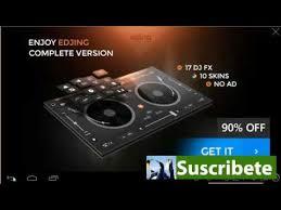 edjing dj studio mixer apk edjing dj studio mixer free and premium edition