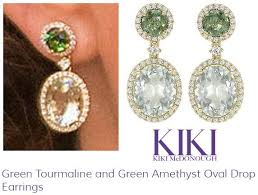 green amethyst earrings green amethyst kate middleton s jewelry
