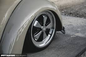 porsche wheels on vw rags to riches saving a u002757 oval then slamming it speedhunters