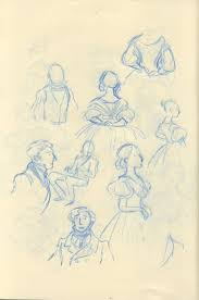 some victorian costume sketches