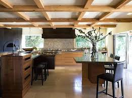 lighting on exposed beams exposed beam ceiling contemporary kitchen with exposed beams track