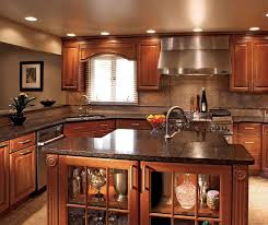 a cherry wood kitchen cabinet this beautiful kitchen has traditional beveled