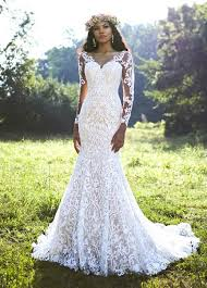 fit and flare wedding dress bohemian fit and flare wedding dress kleinfeld bridal