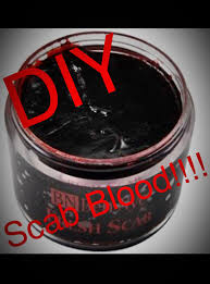 Diy Halloween Makeup Effects by Diy Scab Blood Halloween Pinterest Fx Makeup Costumes And