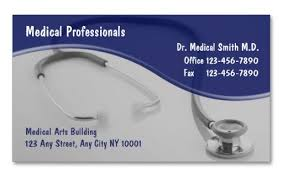 Medical Business Card Design 14 Awesome Business Card Template For Doctors Sample Templates