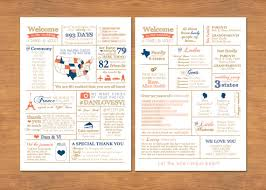 wedding program stationary this infographic wedding program erin s wedding board