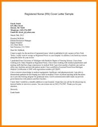 new graduate nurse cover letter sample image collections letter
