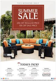summer sale today u0027s patio furniture and decor san diego ca