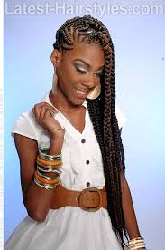 pictures cornrow hairstyles long cornrow hairstyle with a hint of color braid love