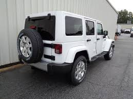 white jeep wrangler unlimited black wheels 2017 jeep wrangler unlimited in for sale 32 used